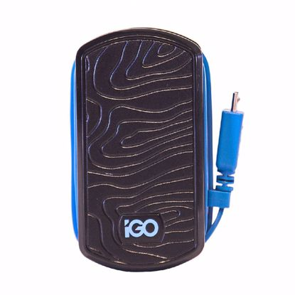 Picture of Trade iGo EU Mains Charger with Micro USB Cable in Black/Blue